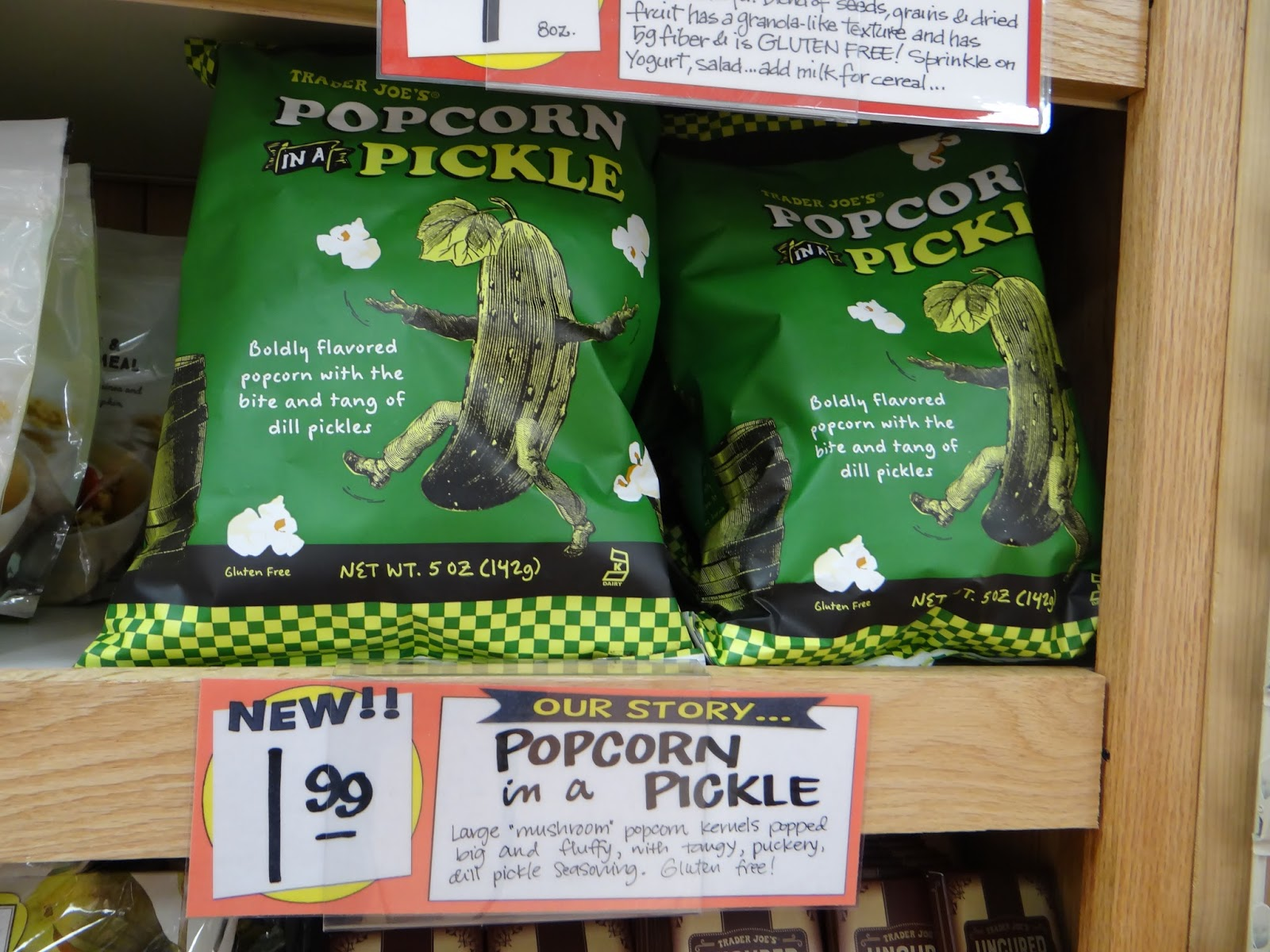 trader joes dill pickle popcorn