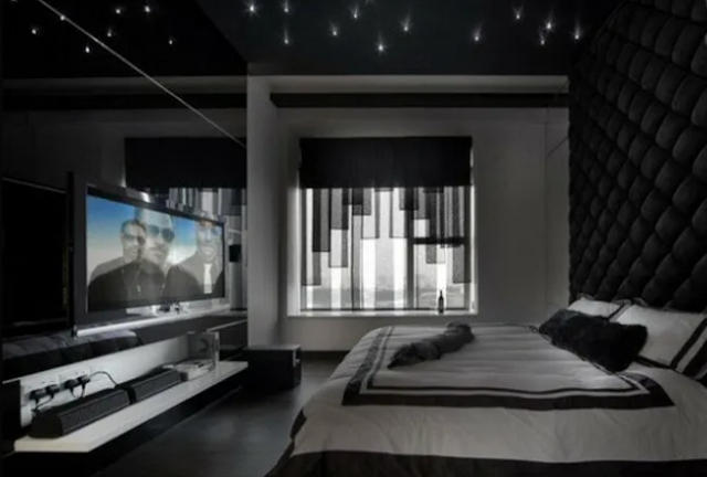 6. modern-day Gothic bed room thoughts