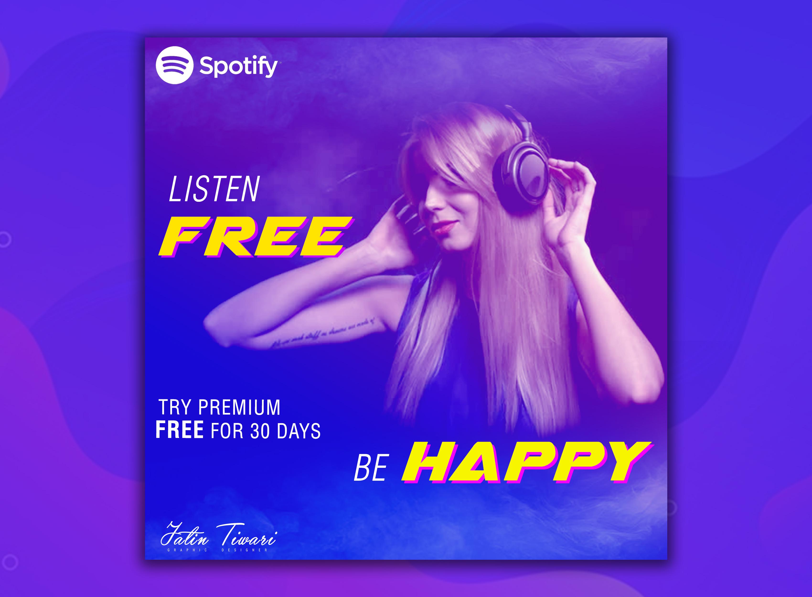 Spotify Poster Design
