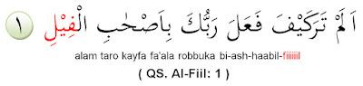 Contoh Mad Arid Lissukun Dalam Alqur'an