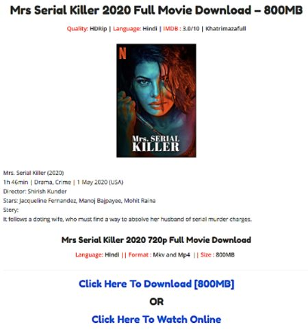 Download Movies from Khatrimaza.com