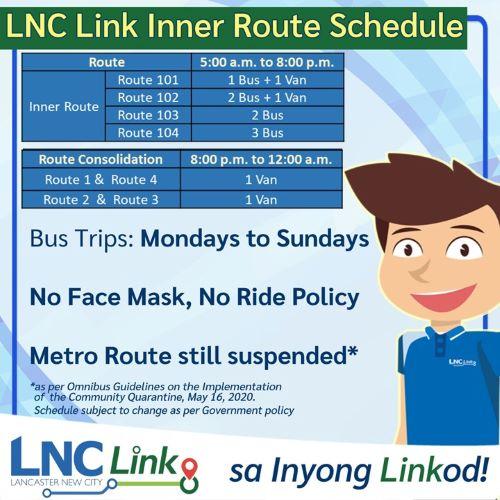 Lancaster New City Bus Schedule