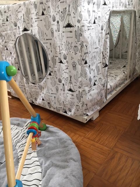 larissaswelt: DIY... vom Laufstall zur Kinder-Kuschel-Lese-Höhle