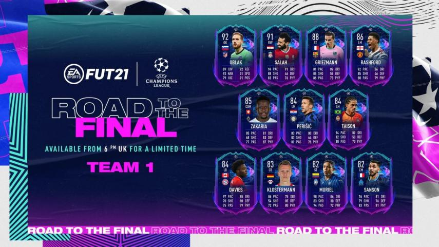 Complete list of FIFA 21 Heading to the Final cards