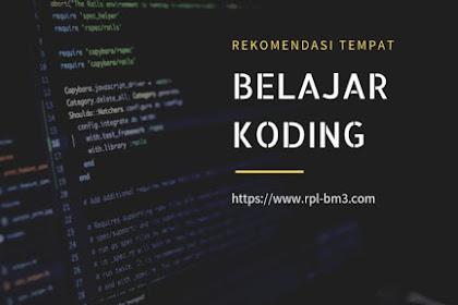 Rekomendasi Tempat Belajar Coding