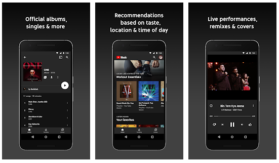 youtube music listening experience