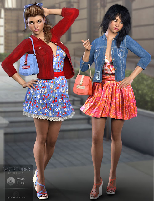 Linley Outfit for Genesis 3 Female