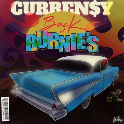 Curren$y - Back at Burnie's (2019) - Album Download, Itunes Cover, Official Cover, Album CD Cover Art, Tracklist, 320KBPS, Zip album