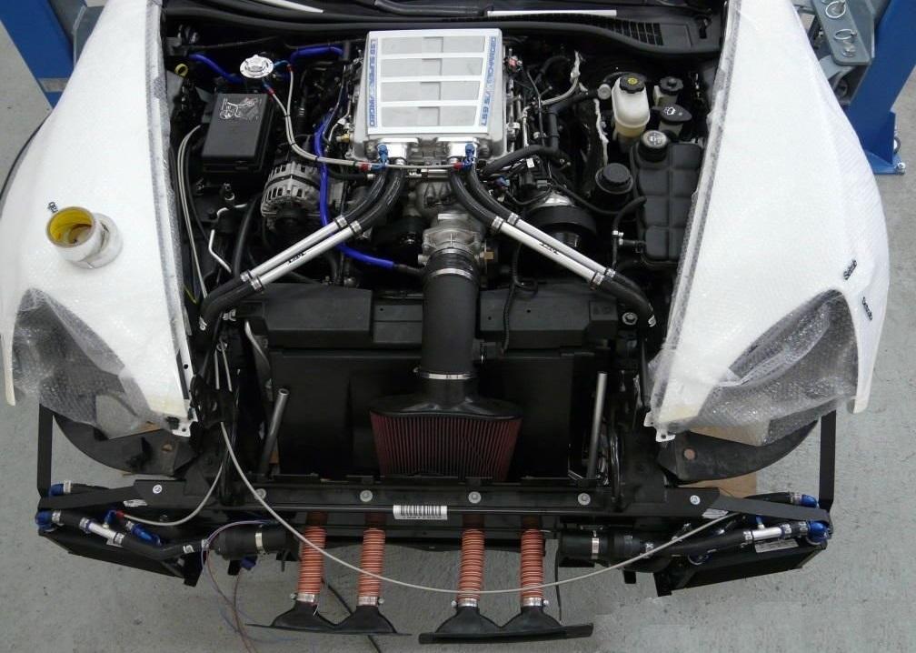 Corvette C7 Z06 TVS1740 intercooler UPGRAYEDD- another