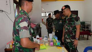 Sambut HUT Ke-74 TNI, Yonkav 12/BC Gelar Bhakti Sosial Pengobatan Gratis