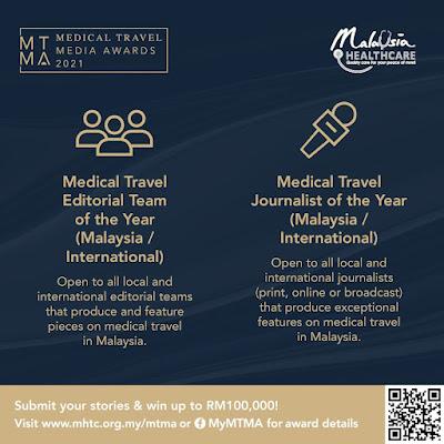 Jom Sertai Medical Travel Media Awards 2021