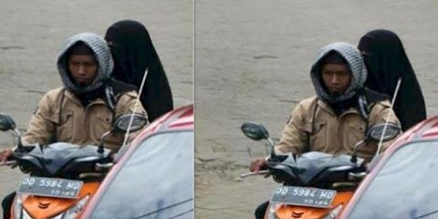 Banyak Kejanggalan, Netizen Ragukan Foto Bomber Makassar Sebelum Meledakkan Diri