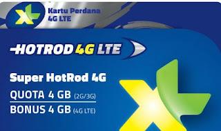 Harga Paket Internet XL 4G LTE Murah Terbaru 2016