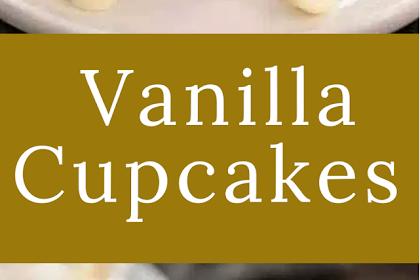 Vanilla Cupcakes with White Chocolate Buttercrea