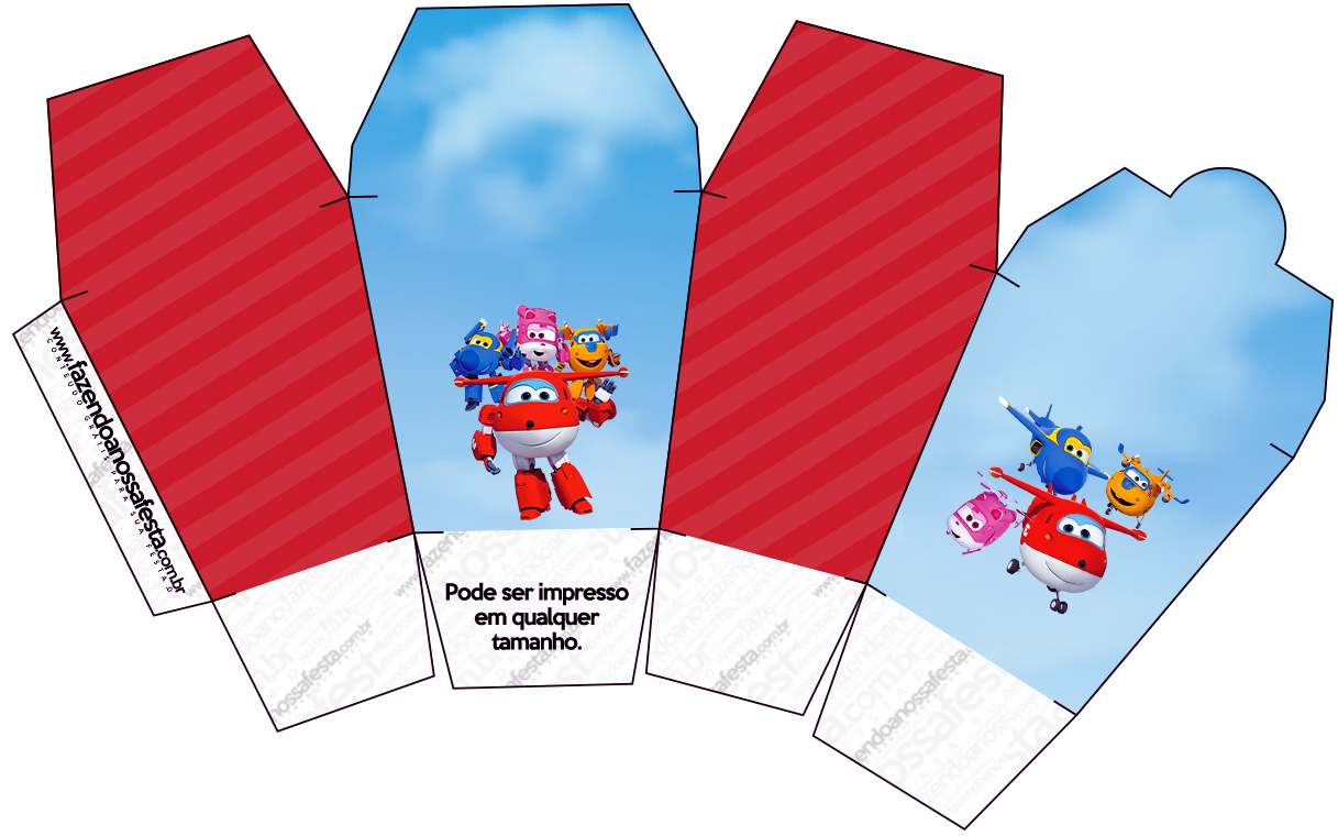 Super Wings Free Printable Boxes Oh My Fiesta In English