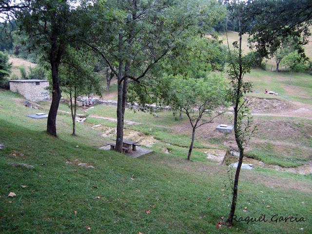 Area recreativa Fuente de la Teta en Orduña (Bizkaia)