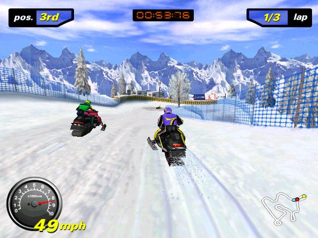 تنزيل لعبة دراجات بخارية علي الجليد للكمبيوتر من ميديا فاير