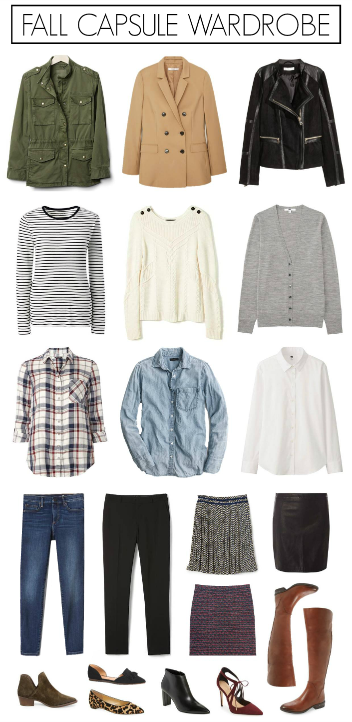 Fall Capsule Wardrobe From H M: Penny Pincher Fashion