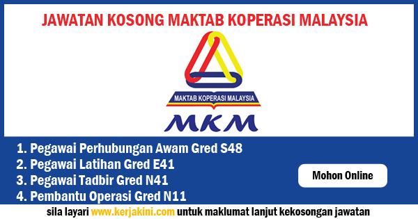 MAKTAM KOPERASI MALAYSIA