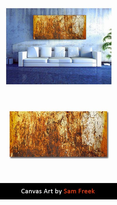 canvas art, canvas wall art, contemporary, modern, wall art, abstract, brown, industrial,