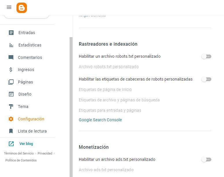 Como incluir nuestro sitio en Google Search Console
