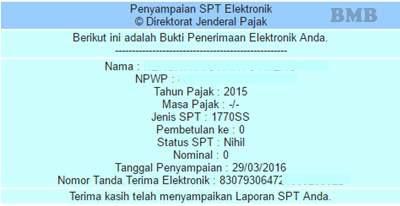 E-Filing untuk lapor SPT Tahunan