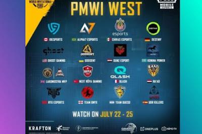 Pengumuman! Ini Adalah Daftar 32 Tim PUBG yang Mengikuti PMWI 2021 Online, BTR RA Ikut ?