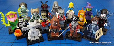 LEGO Minifigures Series 14: Monsters Review - The Halloween Edition!