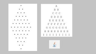 Pattern Printing Programs in Java for Beginners
