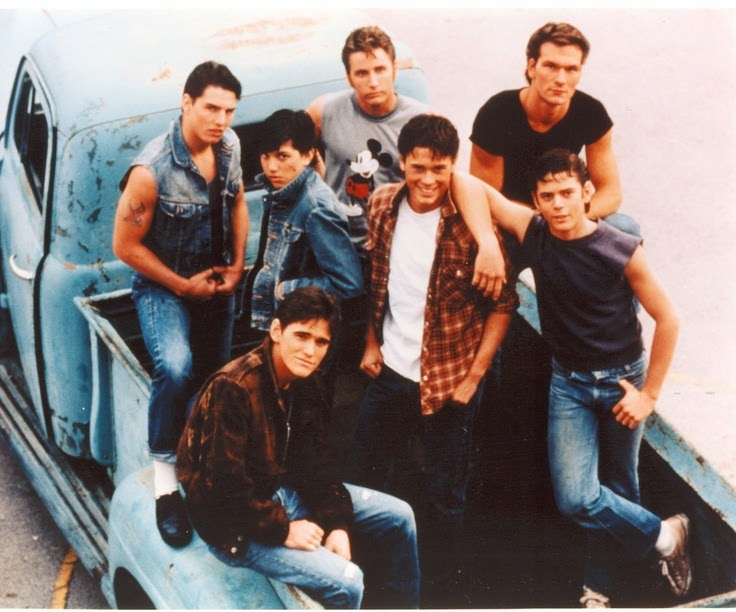 The Greasers from Francis Ford Coppolas The Outsiders