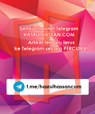 Channel Telegram HasrulHassan.com