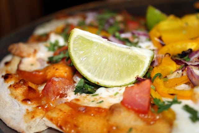 Pizza Tip: Add Fresh Lime Juice