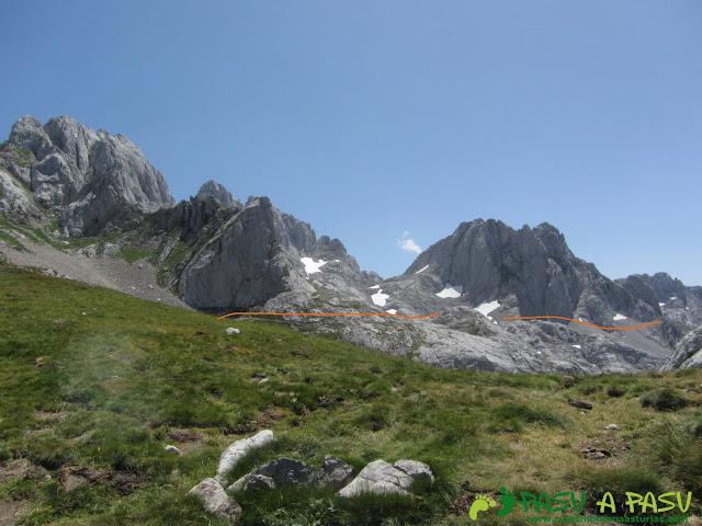 Collado Les Merines, Picos de Europa
