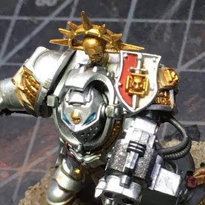 Grey Knights Brotherhood Champion WIP