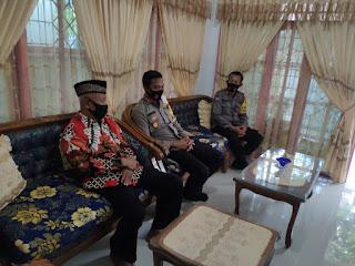 Kapolres Pangkep Silaturahmi ke Ketua FKUB, Begini Harapannya