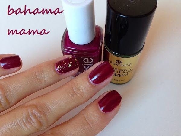 ESSIE - BAHAMA MAMA & GOLD TOPPER