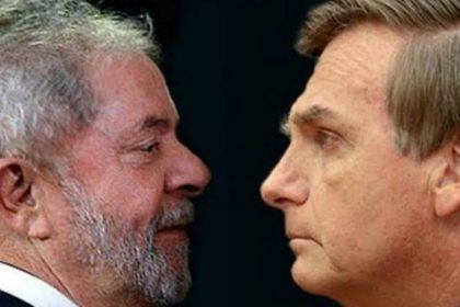 Eleições 2022 | Bolsonaro e Lula estão empatados em um possível 2º turno, diz CNN   Nesta quarta-feira (10), a CNN e o Instituto Real Time Big Data divulgaram pesquisa de intenção de voto sobre as eleições presidenciais de 2022.