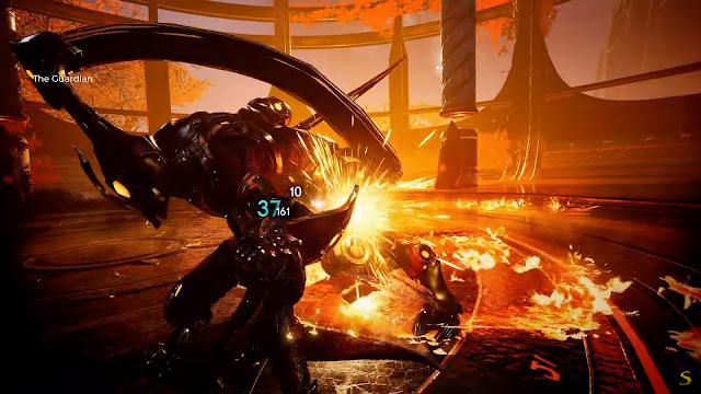 Screenshot Gameplay Godfall PS5