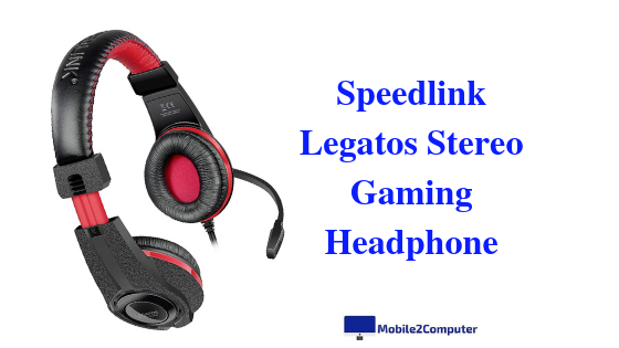 Speedlink Legatos Gaming Headphone with Mic under 1000 Rs.