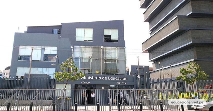 MINEDU: Postulantes a plazas administrativas deben presentar expedientes la primera semana de diciembre (R. VM. N° 287-2019-MINEDU)
