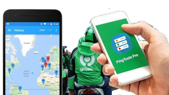 Cara Setting Ping tools Pro untuk Gojek