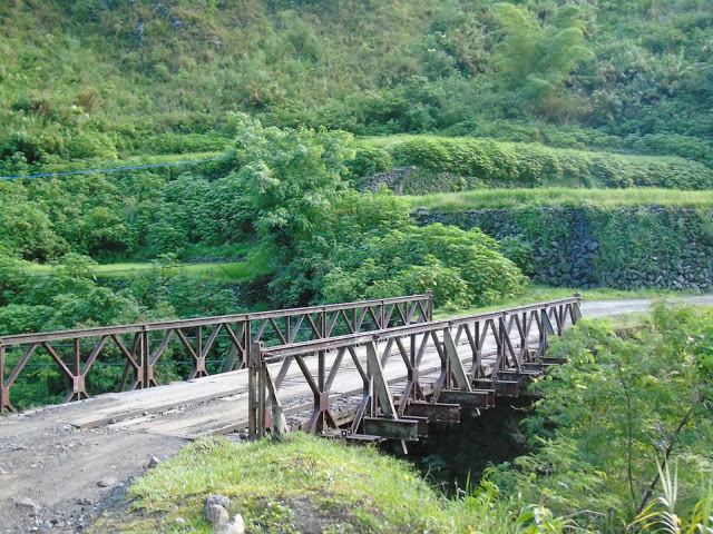 One of the bridges going to Tinglayan