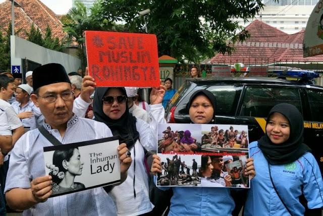 Kedubes Myanmar Didemo Terkait Rohingya