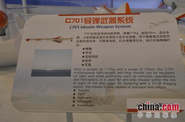 Resultado de imagen para misil c701