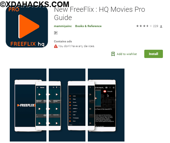 New FreeFlix : HQ Movies PRO [Premium] .apk