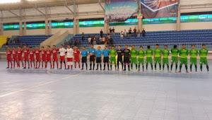 Tim Futsal Sumut Lolos ke PON Papua 2020