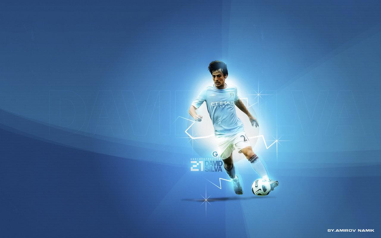 Football Wallpapers: David Silva Wallpaper