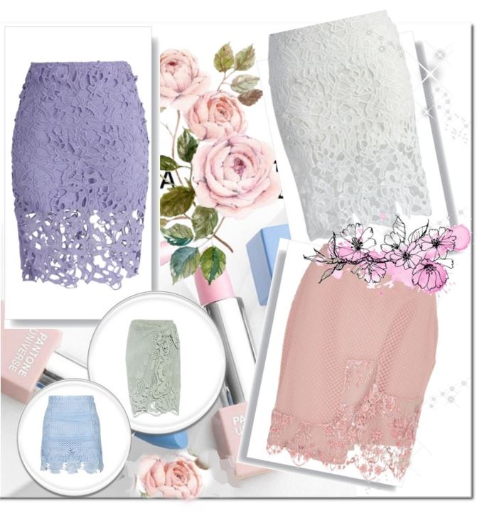 Dantel, Etek, lace skirt
