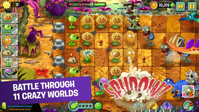 Free Download Plants Vs Zombies 2 Apk
