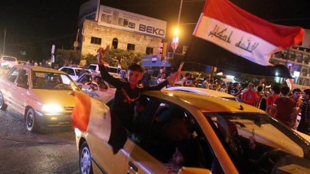 Thousands of Iraqis celebrate Fallujah liberation from Daesh